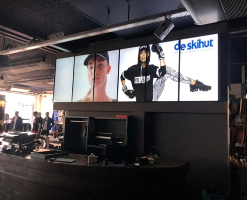 Videowall Skihut